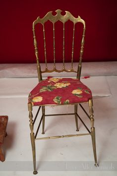 Old Rickety Kitchen Chair