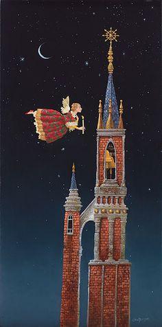 James Christensen Christmas Bells