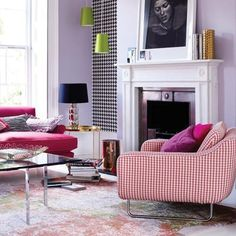 Trend: Pied-de-poule. #interiorjunkie #interiorinspiration #homedeco #home #living #homeiswheretheheartis #carpets #homeinspiration #piedepoule