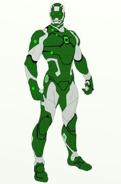 Green Lantern iron man