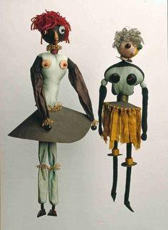 Hannah Höch - Dada-Puppen