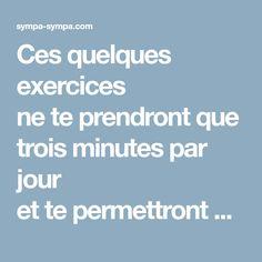 Ces quelques exercices ne te prendront que trois minutes avant le dodo Anti Cellulite, Fitness Motivation, Health Fitness, Gym, Sports, Yoga, Pilates, Workout, Vicks Vaporub
