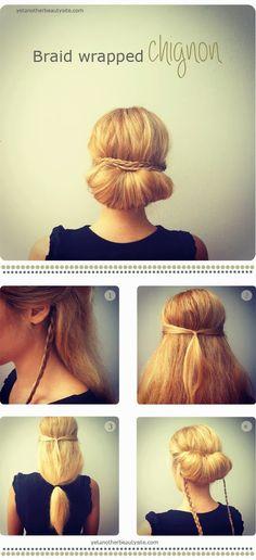 Easy Work Hair