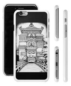 Spirited away - Bathhouse Iphone6 case door LaurenInkDots op Etsy
