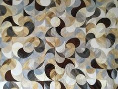 """YIN-YANG 8"""" Yin Yang, Quilting, Templates, Scrappy Quilts, Stencils, Vorlage, Fat Quarters, Jelly Rolls, Models"""
