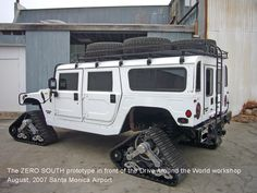 Tracked H1 Hummer
