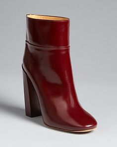 love this color for fall...Chloé High Heel Booties | Bloomingdale's