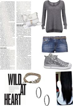 """""""wild at heart"""" by hannah-burling ❤ liked on Polyvore"""