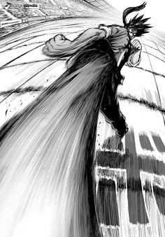 Suiryu - One punch man Drawing Reference Poses, Drawing Poses, Manga Drawing, Manga Art, One Punch Man Manga, Manga Combat, Fighting Drawing, Pixiv Fantasia, Fighting Poses
