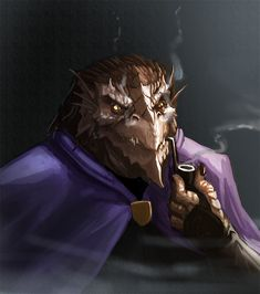 More for the Sigantium project, this guy is the Necromancer professor. Here's a little snippet from their facebook page: Daznath skirts the lines of many classifications, at the Sigantium aca...