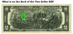 The Truth is always taken out of circulation. The 1st Black President John Hanson, is on the back of the $2 bill.