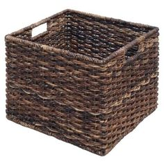 love target baskets for storage in our small apartment :)