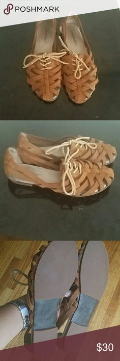 Beautiful Flats. Very comfy Caterpillas flats. Perfect for summer. Soft leather. Worn only 2. As you can see in the pictures in perfect condition. Even the soles are clean. Caterpillar  Shoes Flats & Loafers