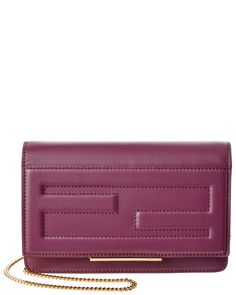FENDI Leather Tube Wallet on Chain is on Rue. Shop it now.