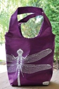 Purple Lunch Tote Bag. 16 dollars