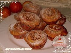 Almás muffin