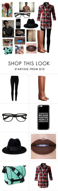 """""""Teen Wolf prp"""" by moon-and-back-babe123 ❤ liked on Polyvore featuring Max Studio, Bebe, Casetify, Gucci, KAOS, L.L.Bean and LE3NO"""