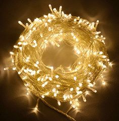 CVLIFE 31V Safe 500 Leds 100M Warm White String Fairy Lights Lighting 8 Modes for Christmas Tree Party Wedding Garden *** Check this awesome product by going to the link at the image.