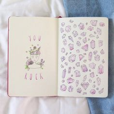 """7,151 Me gusta, 33 comentarios - Notebook Therapy (@notebook_therapy) en Instagram: """"This is stunning! @opheliasriver #notebooktherapy"""""""