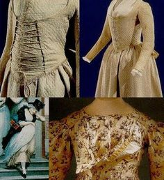 History Hoydens: Maternity Clothes. Fascinating page on maternity wear in the 18th century.