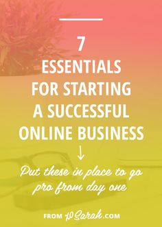You've nailed down your business name, set up your services, organized your workspace and are ready to build a brilliant business. But are you missing these 7 small business essentials that could keep you from growing consistenly and positioning yourself Business Advice, Home Based Business, Business Entrepreneur, Business Names, Business Planning, Business Marketing, Business Launch, Business Help, Career Advice