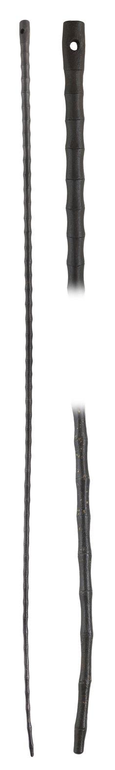 Japanese kanamuchi (iron whip), Edo period,  110 cm (43.30 inch).