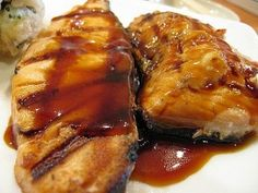Wouldn't you like to discover the flavorful, fulfilling taste of teriyaki salmon for dinner. Meaty, delicious, and easy to prepare – teriyaki salmon is different from any other main course ever. You may be surprised at all the different and scrumptious ways to prepare salmon. For instance you can have your salmon grilled, smoked, fried, baked or broiled. It's truly up to you. Teriyaki Salmon, Simple Rules, Grilled Salmon, Salmon Recipes, Fries, Grilling, Pork, Dinner, Baking