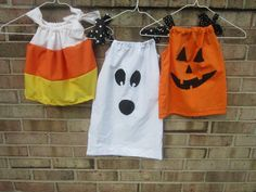 Halloween Pillowcase Dresses for Infants and Toddlers. $22.00, via Etsy.