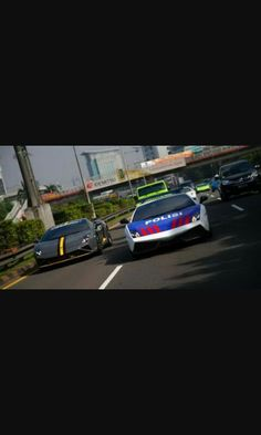 Police car Indonesia