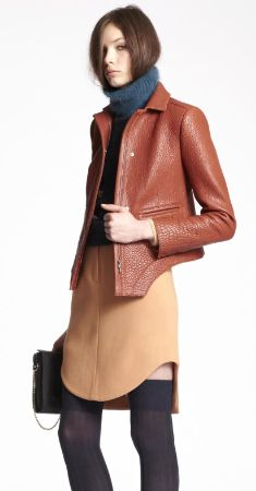 leather jacket- Carven Pre-Fall 2013