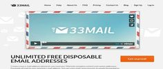 Tired of giving your personal email address to various web services? With 33Mail, a disposable email service, you can create numerous aliases. Here's how.