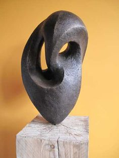 Bronze resin Garden Or Yard / outside and Outdoor sculpture by artist Paz Perlman titled: 'Chambers'
