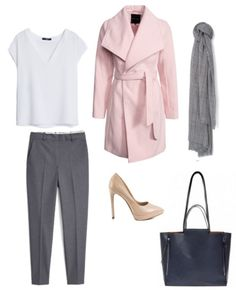 W:  Torebka Answear  Bluzka, spodnie , szal Mango  Buty Aldo  Płaszcz New look