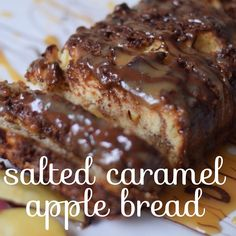 Salted Caramel Apple Bread | Pizza & Champagne