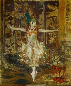 Jacques Emile Blanche - Karsavina as the Firebird