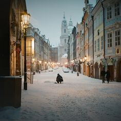 prague. in the winter. must go.