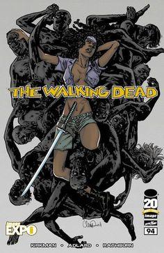 Capa Alternativa da Edição #94 de The Walking Dead
