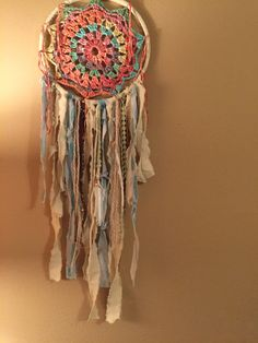 crochet dreamcatcher