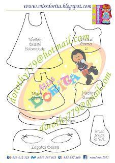 Miss Dorita: Forro de Cuaderno Niña Trenzas Foam Crafts, Notebook, Dolls, Disney, Fun, Lema, Blog, Girl Bike, Baby Mold