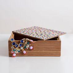 Georgiana Paraschiv Celebration Triangles Jewelry Box   DENY Designs Home Accessories