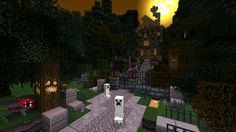 minecraft haunted house - Google Search
