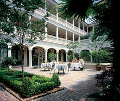 "#PlantersInn in #Charleston is #Travel + Leisure magazine's No. 6 on the list of America's Best Hotels. ""All 64 rooms have crown moldings and four-poster beds at this Charleston hotel, set within a peaceful 19th-century building and modern addition. For the best views, book Plantation Kings, which are roomy and have views of the Meeting and Market Streets historic district. And be sure to dine al fresco in the Peninsula Grill's garden courtyard."" #TL500"