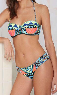 Geo print bikini | Mara Hoffman