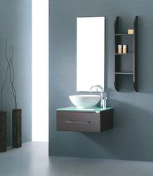 This Valerie bathroom vanity set is a single drawer with a side cabinet for additional storage. The vanity is constructed from eco-friendly solid rubber wood construction and comes complete with the mirror, shelf, basin and faucet. Single Sink Bathroom Vanity, Bathroom Vanity Cabinets, Bathroom Furniture, Small Bathroom, Bathroom Vanities, Sinks, Bathroom Ideas, Danish Modern, Contemporary Living Room Furniture
