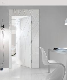 Bertolotto Porte @iSaloni #interiors #white #minimal