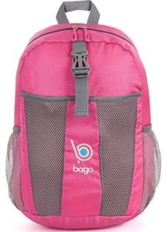 4c87bb8336dc Bago Lightweight Foldable Waterproof Backpack Bag is Packable Collapsible  Pink -- You can find out