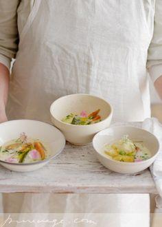 Pure Vegetarian By Lakshmi: Summer Soup (Kesäkeitto)