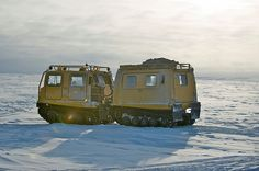 Arctic Transport in Alert, Nunavut, Canada