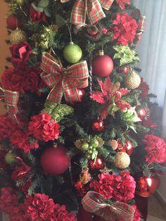 Nossa Árvore de Natal em detalhe!!!
