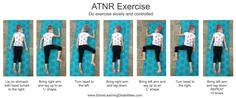 Retained Asymmetrical Tonic Neck Reflex Exercise